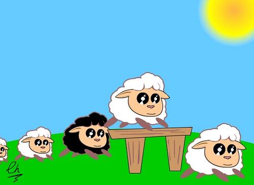 sin contar ovejitas