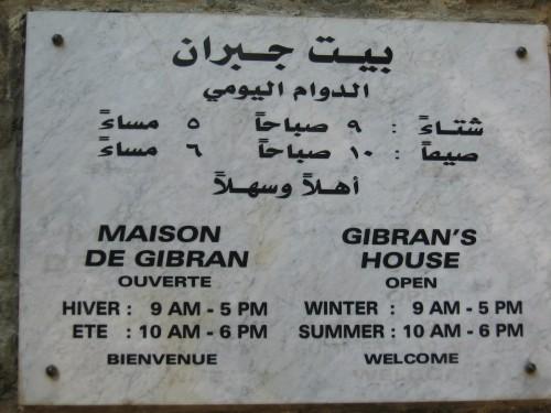 Casa de Kahlil Gibrán.