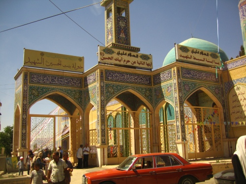 mezquita en Baalbek